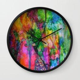 Hello Polly Wall Clock