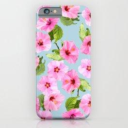 Ibiscus Dance iPhone Case