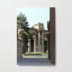 Palace Fine Arts Pillars And Urn Metal Print