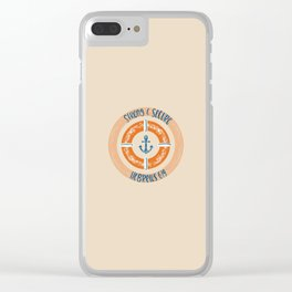 Hebrew 6:19 - Strong and Secure Clear iPhone Case