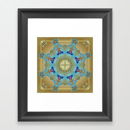 Mix&Match Byzantine Mosaic 01 Framed Art Print