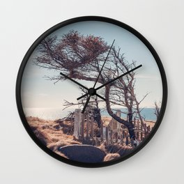 Graveyard by the sea Wall Clock
