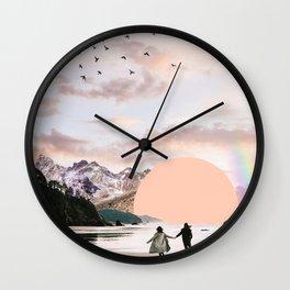 Running towards Freedom, 2018 Wall Clock