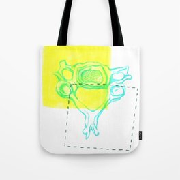 4th Cervical Vertebra Tote Bag