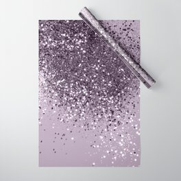 Sparkling Lavender Lady Glitter #2 #shiny #decor #art #society6 Wrapping Paper