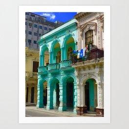 Cuban Blue Art Print