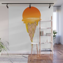 Famous Sunset Flavored Ice Cream Wall Mural