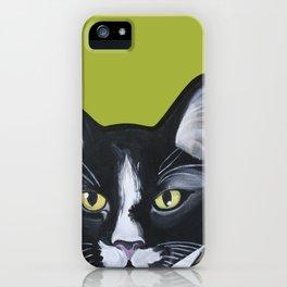 Laser the Cat iPhone Case