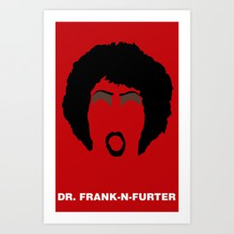 DR FRANK Art Print