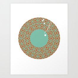 021 - Merry-go-round Art Print