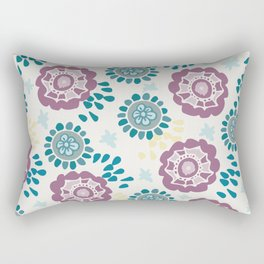 Party blossoms Rectangular Pillow