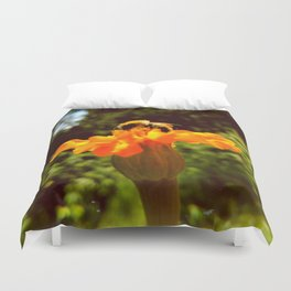 bee of autumn Duvet Cover