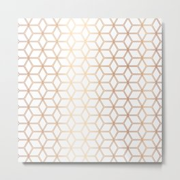 Hive Mind Rose Gold #113 Metal Print