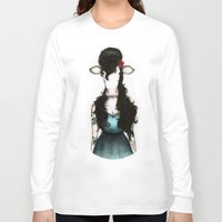 amy hamilton Long Sleeve T-shirts featuring Amy by J. Neto