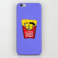 french fries iPhone & iPod Skins featuring French Fries by Kleviee
