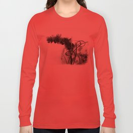 Flowers in black Long Sleeve T-shirt