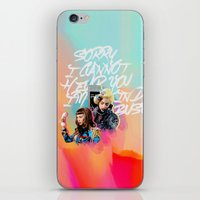 telephone iPhone & iPod Skins featuring telephone by evenstarss