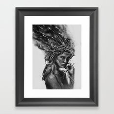 Affinity Framed Art Print