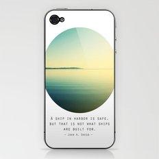 A Ship iPhone & iPod Skin