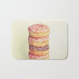 Stack of Donuts Bath Mat
