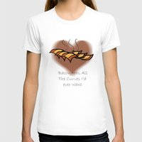 bacon T-shirts featuring Bacon  by BrasaPanda