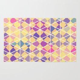 Purple indulgence pattern art Rug