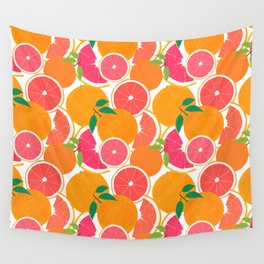 Grapefruit Harvest Wall Tapestry