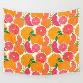 Grapefruit Harvest Wall Tapestry