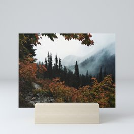 Fall Framed Trail Mini Art Print