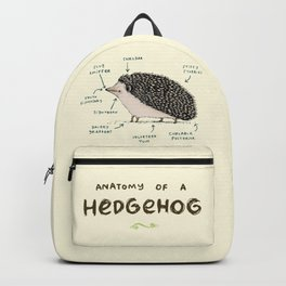 Anatomy of a Hedgehog Backpack