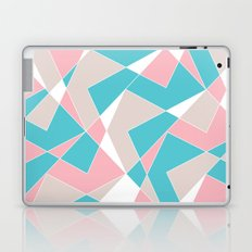 Broken Pattern (Pink-Turquoise) Laptop & iPad Skin
