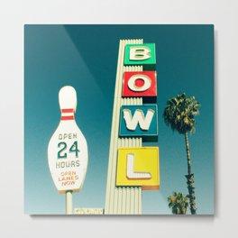 Linbrook Bowl - Anaheim, CA Metal Print