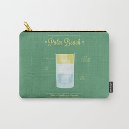 Palm Beach - Cocktail by Juan Carry-All Pouch