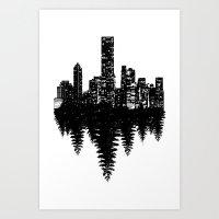 Opposite Art Print