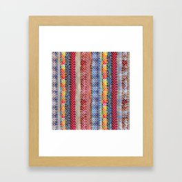 Bohemian Lace Framed Art Print