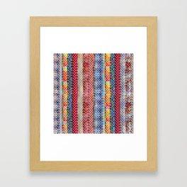 Bohemian Lace Framed Art Print