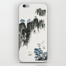 Crusing on the river iPhone Skin