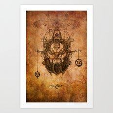 Zodiac: Libra Art Print