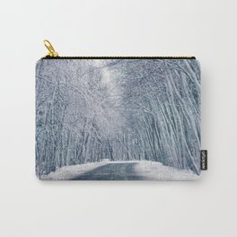 DRIVE - WAY - SNOW - PHOTOGRAPHY Carry-All Pouch