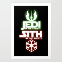 jedi Art Prints featuring Jedi by Liquidsugar