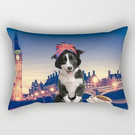 Pulp in London Rectangular Pillow
