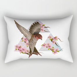 Swallow Landing Rectangular Pillow