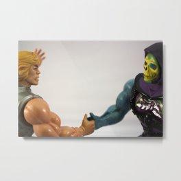 I declare a thumb war! Metal Print