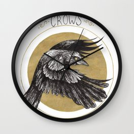 Support your local murder Wall Clock