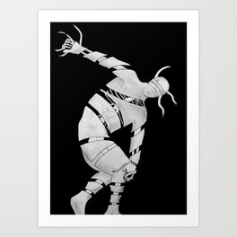 Anatomy of Discobolus Art Print