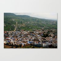 morocco Canvas Prints featuring morocco by Lauren
