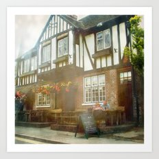 British Pub Art Print