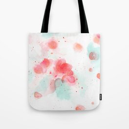 Abstract water lillies Tote Bag