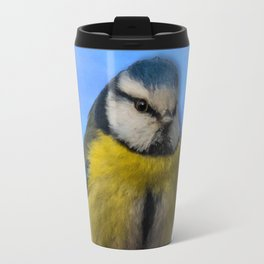 Yellow Breasted Bird Travel Mug