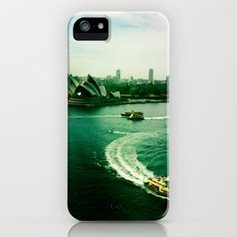 Sydney Harbour Opera House iPhone Case